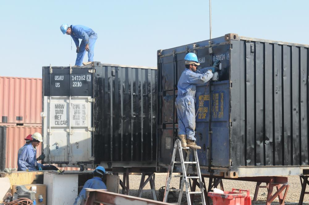 Ремонт контейнеров