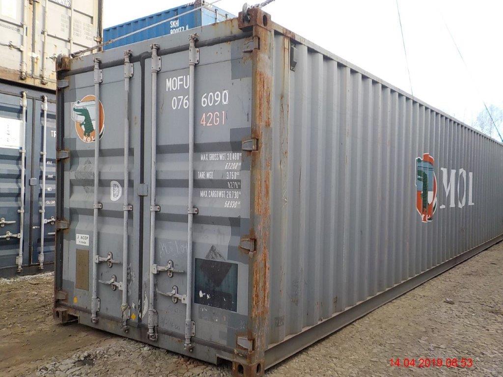 40 футовый контейнер Е2