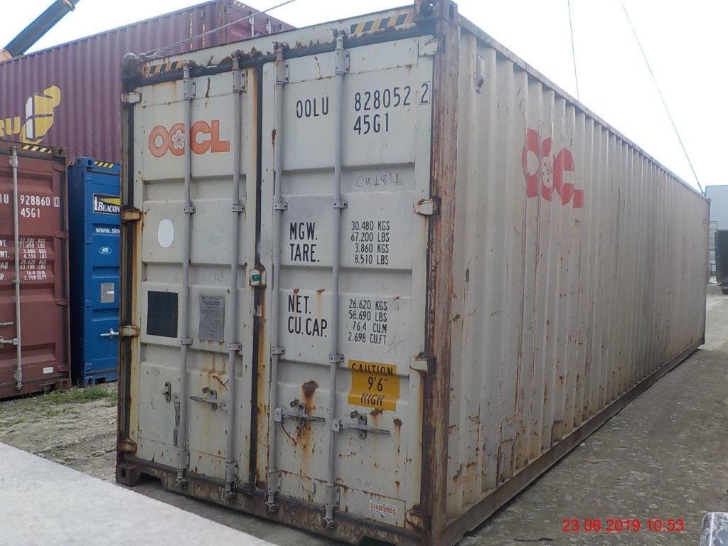 40 футовый контейнер Е3