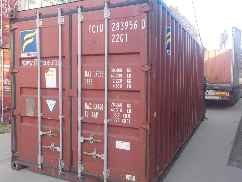20 футовый контейнер Е 001