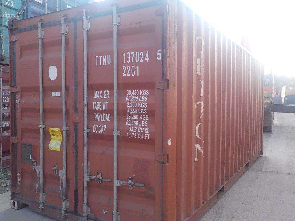 20 футовый контейнер Е 002