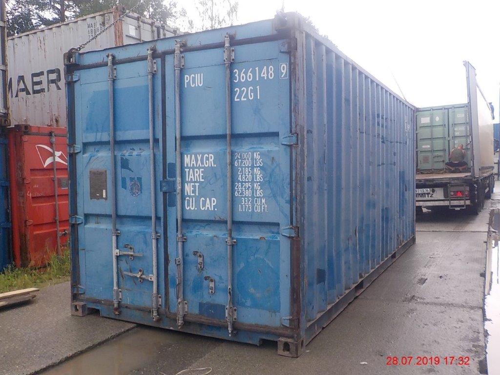 20 футовый контейнер Е 003