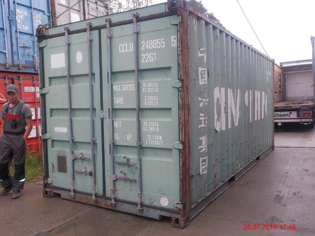 20 футовый контейнер Е 004