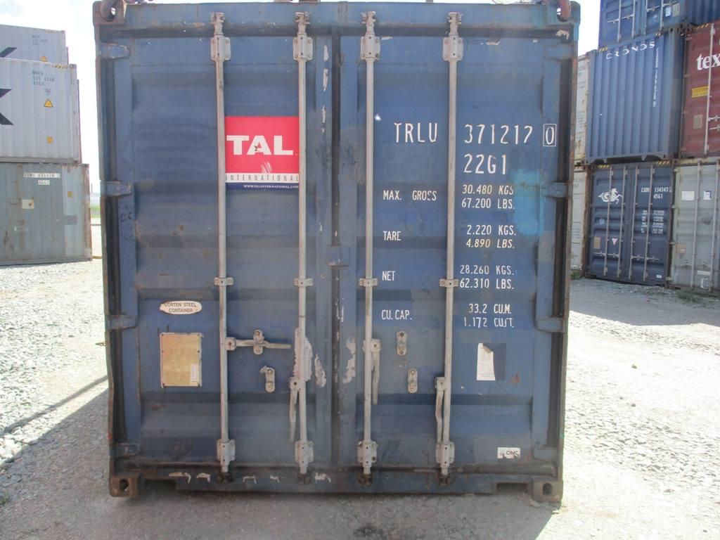 20 футовый контейнер Б 001