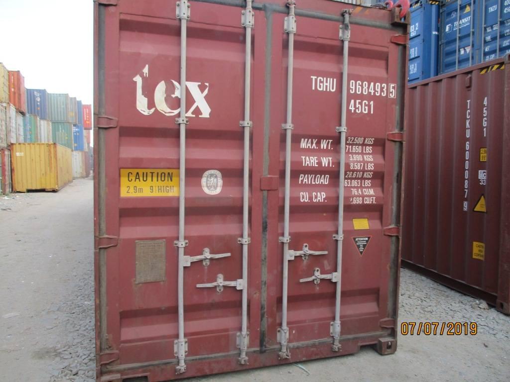 40 футовый контейнер nsk 18