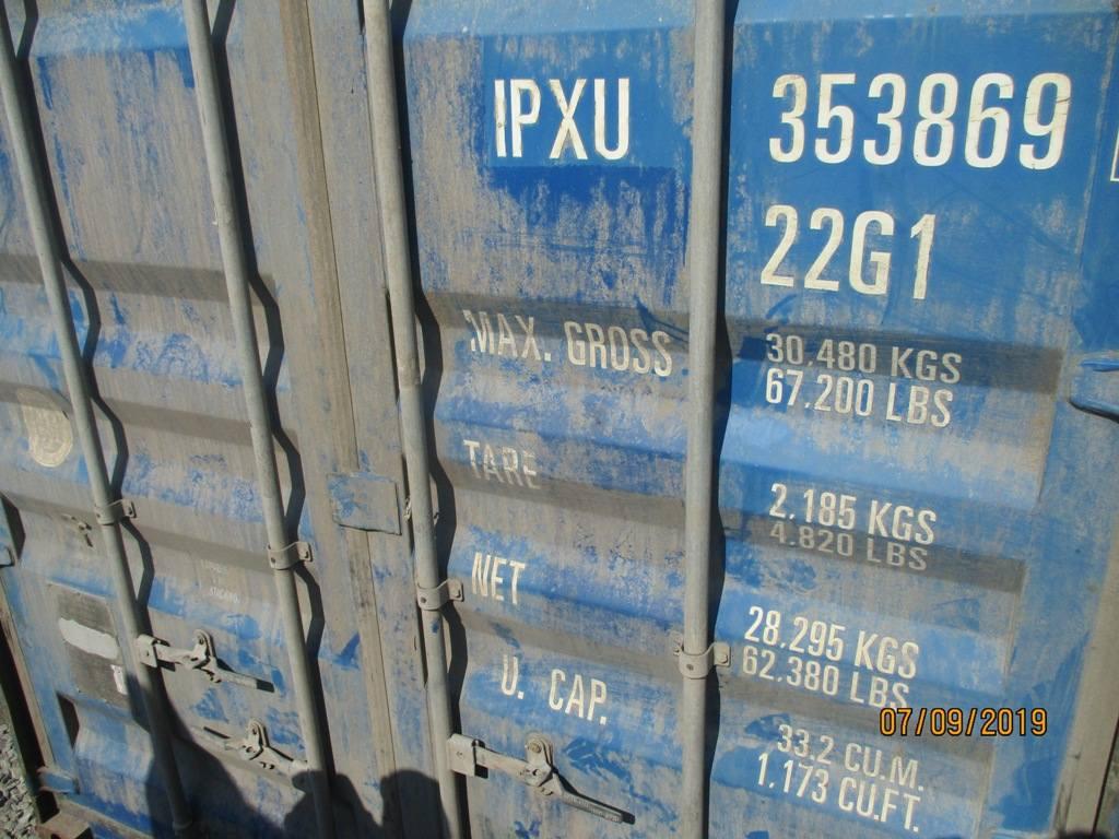 20 футовый контейнер nsk 0029