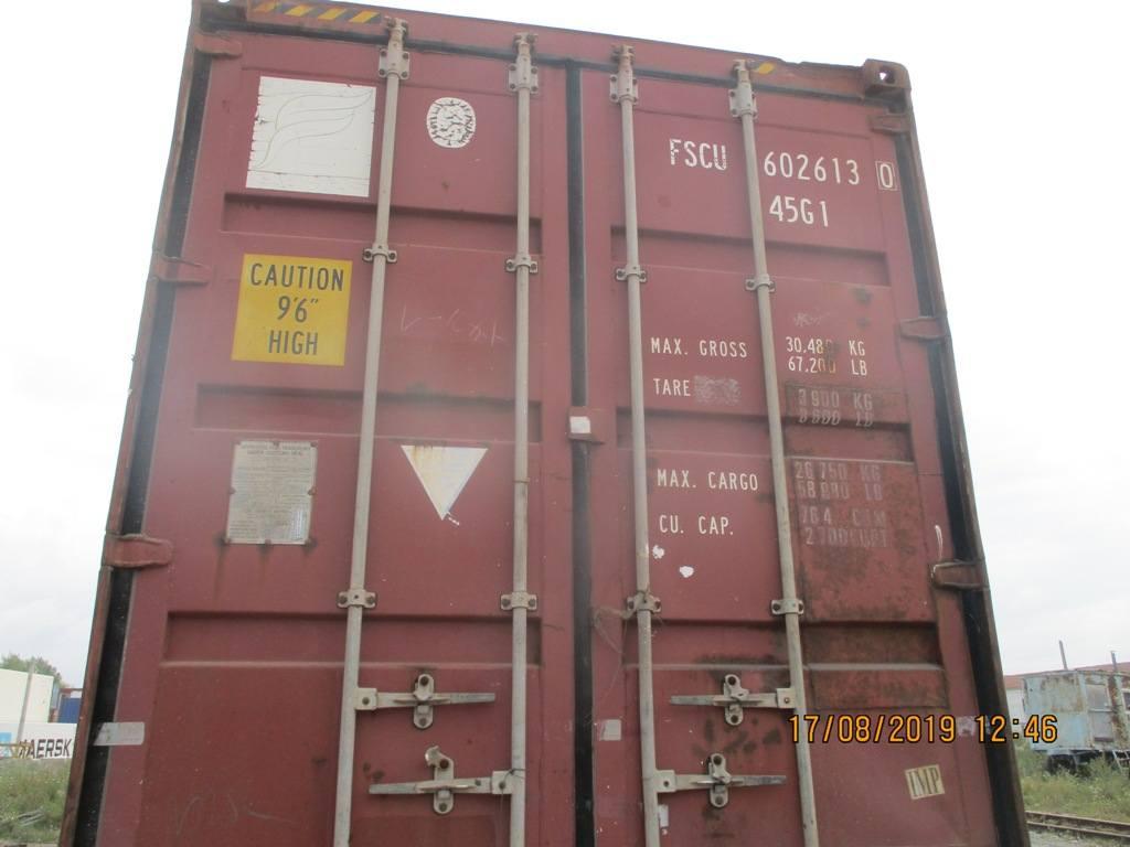 20 футовый контейнер nsk 0030