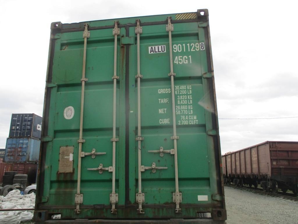 40 футовый контейнер nsk 30