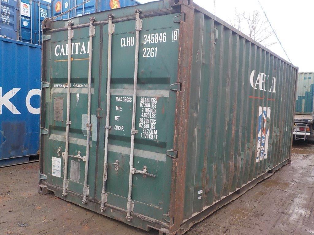 20 футовый контейнер E 0050