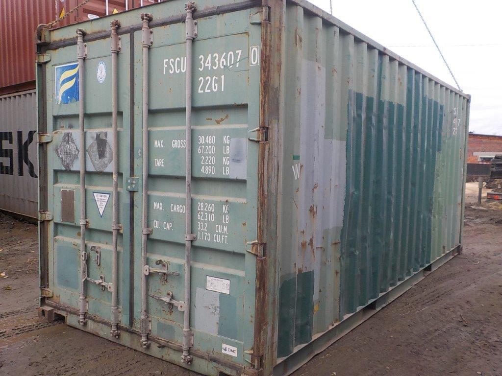 20 футовый контейнер E 0051