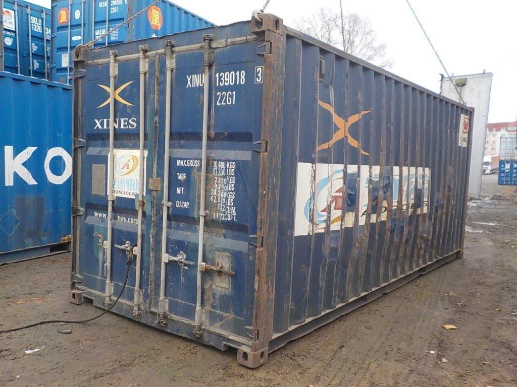 20 футовый контейнер E 0049