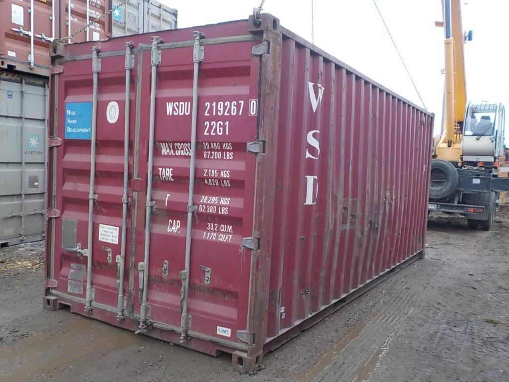 20 футовый контейнер E 0048