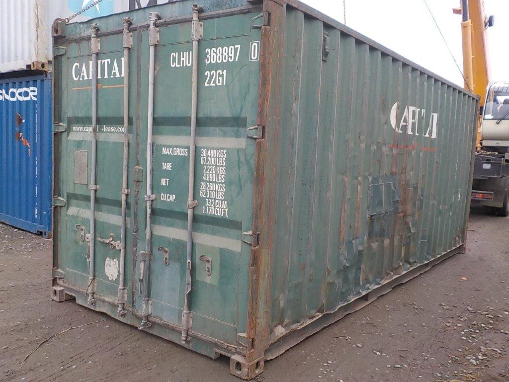 20 футовый контейнер E 0046