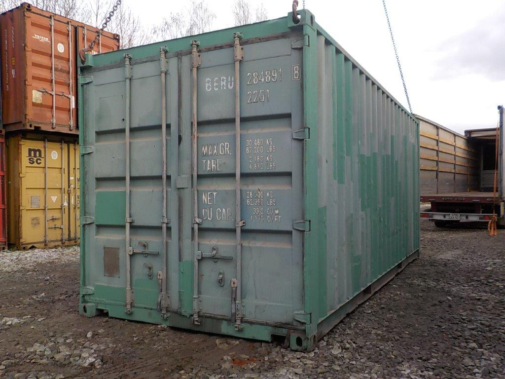 20 футовый контейнер Е 0061
