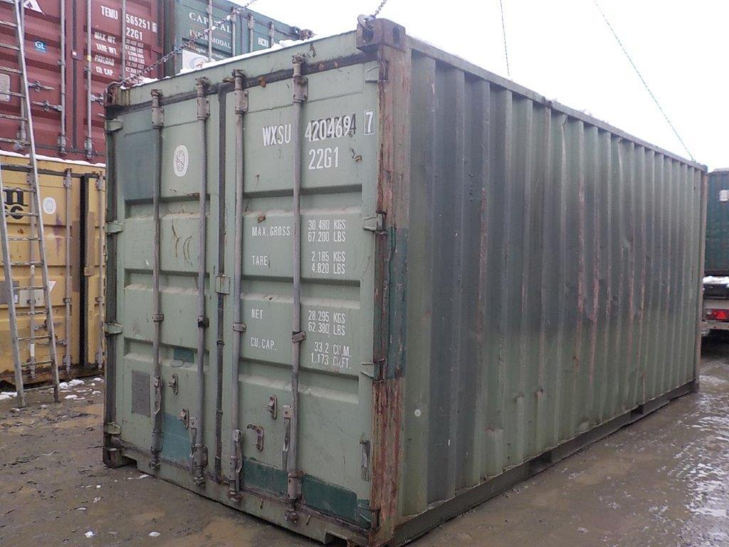 20 футовый контейнер E 0057