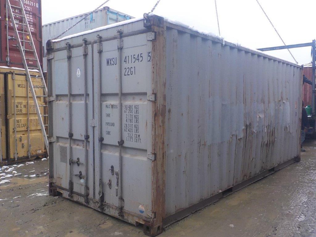 20 футовый контейнер E 0059