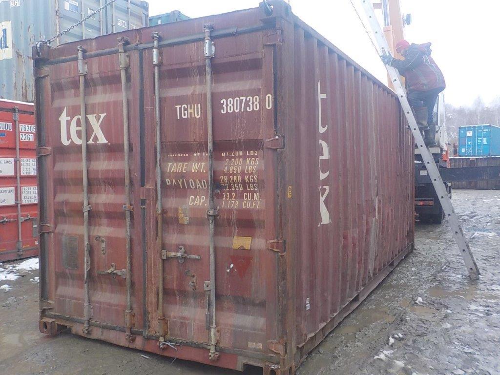 20 футовый контейнер E 0060