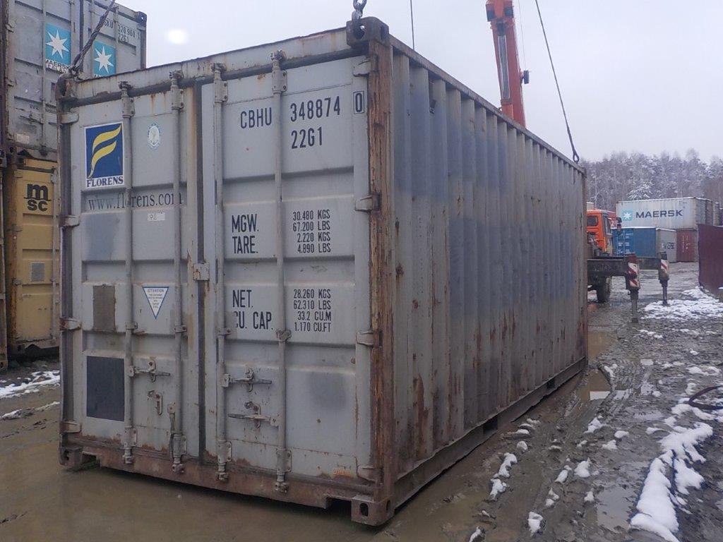 20 футовый контейнер Е 0063
