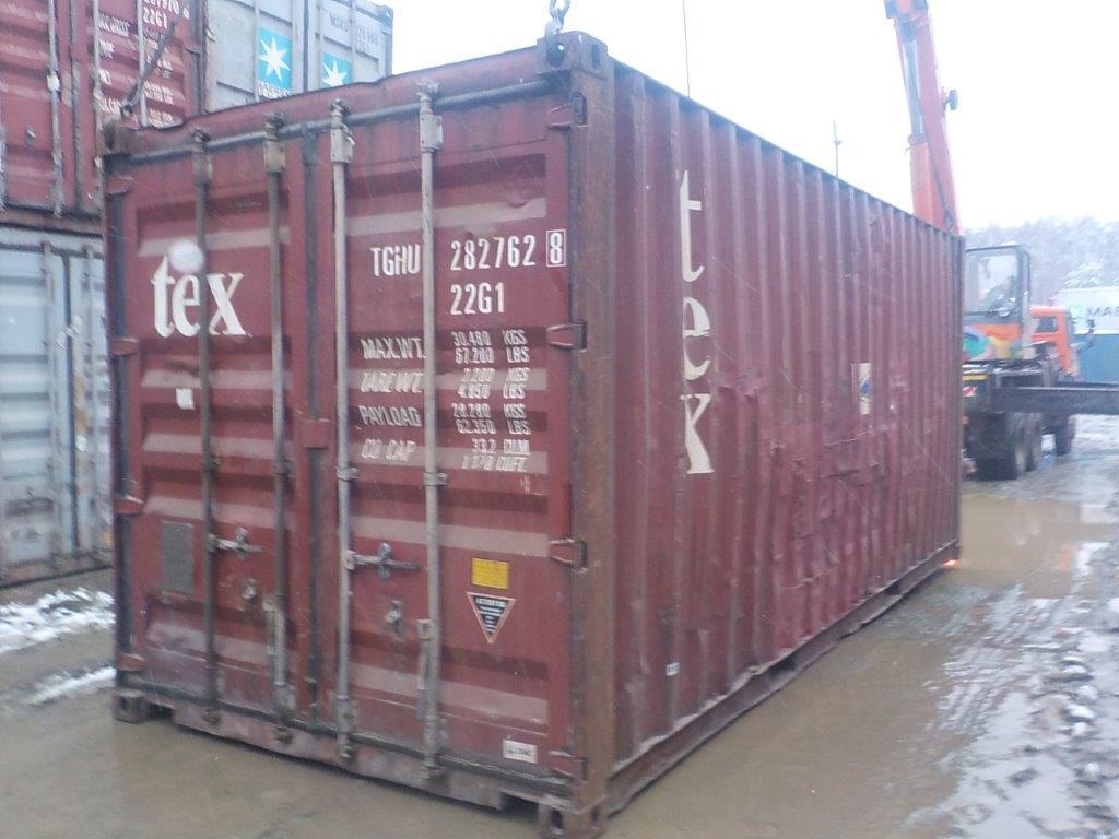 20 футовый контейнер E 0056