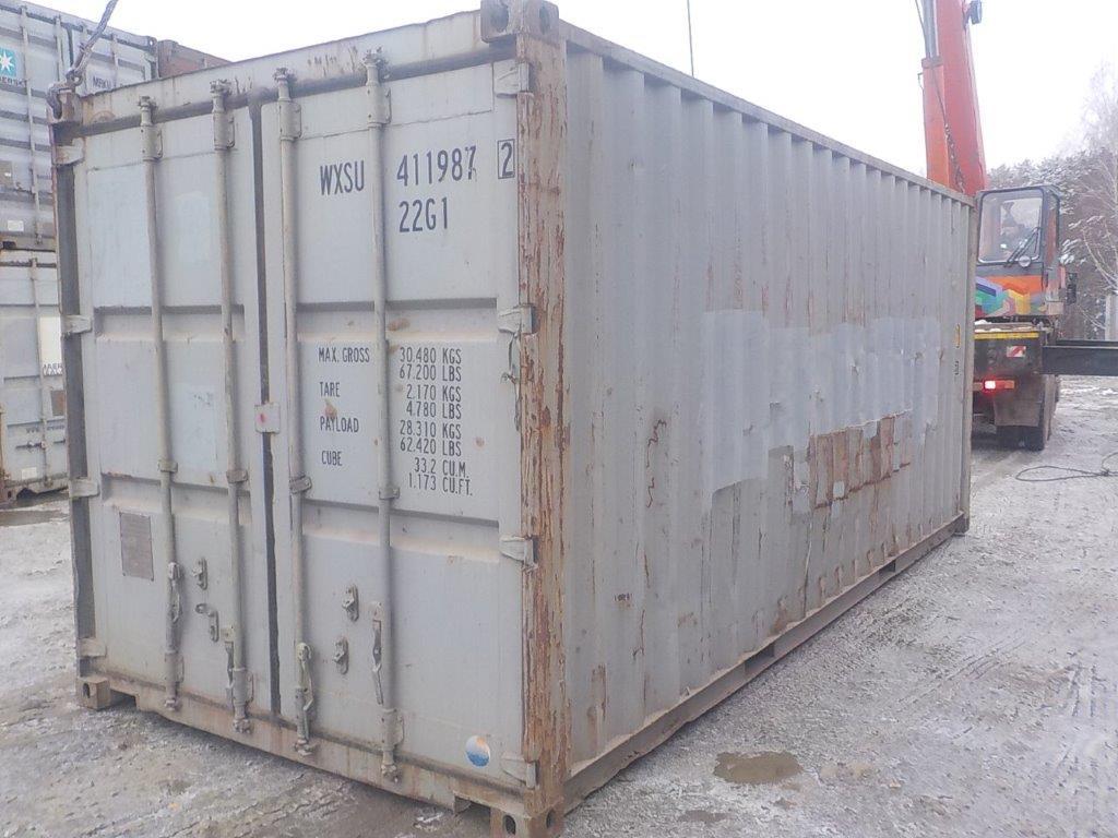 20 футовый контейнер Е 0064