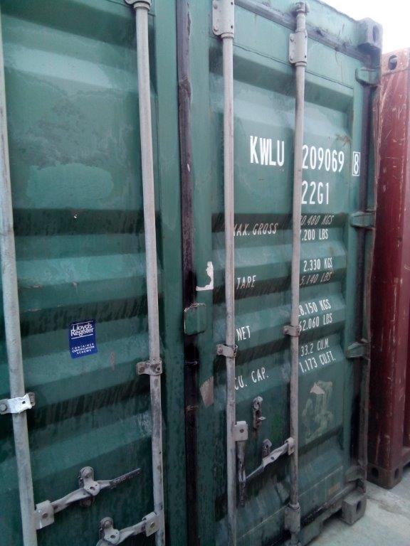 20 футовый контейнер Т 0010