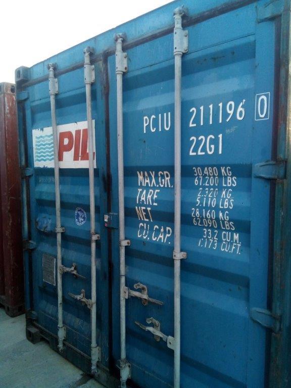 20 футовый контейнер Т 0012