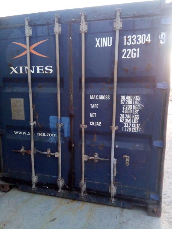 20 футовый контейнер Т 008