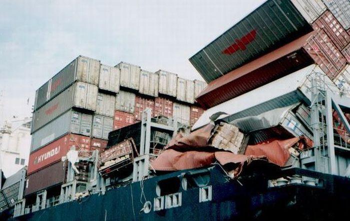 Ремонт контейнеров. Виды повреждений.