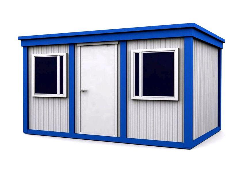 Б/у контейнеры для строительной бытовки.