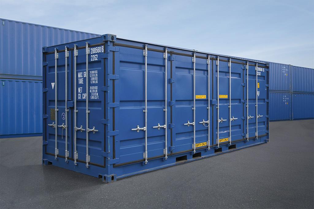 Правила размещения груза в контейнере при его транспортировке.