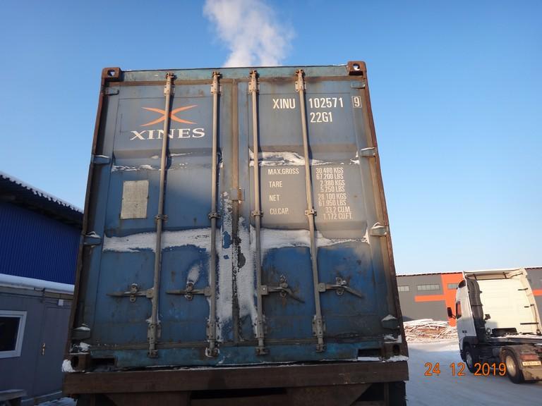 20 футовый контейнер И 006