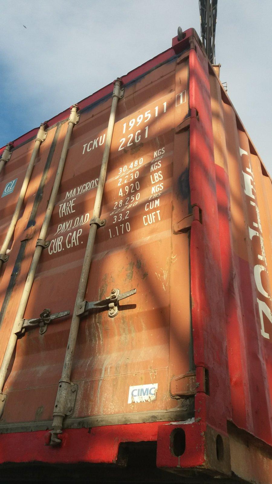 20 футовый контейнер Ч 003