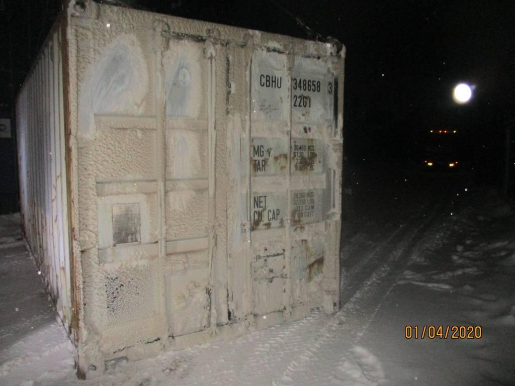 20 футовый контейнер nsk 0026