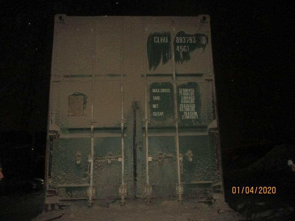 40 футовый контейнер nsk 27