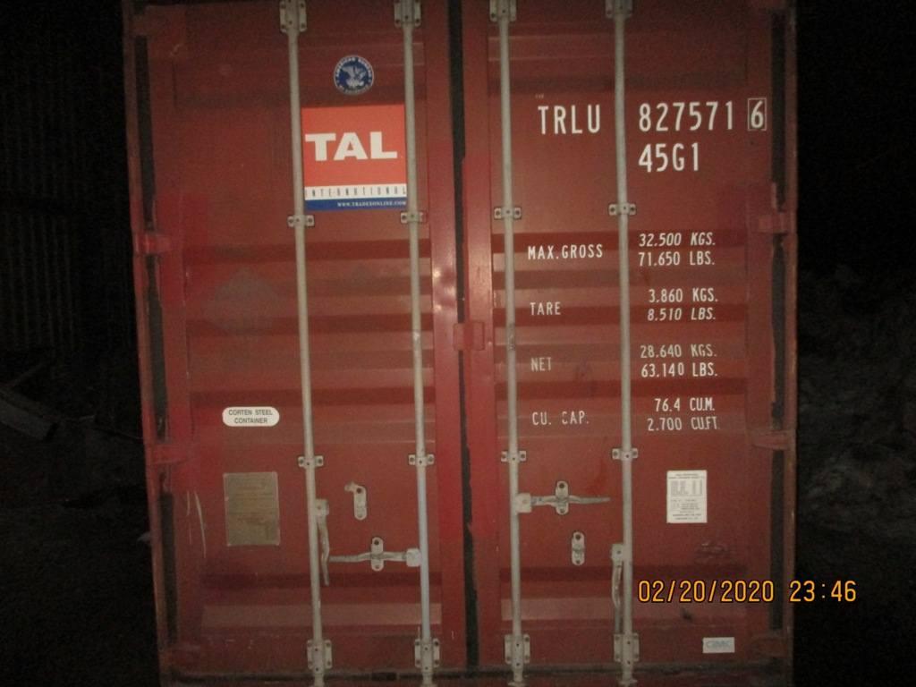 40 футовый контейнер nsk 20