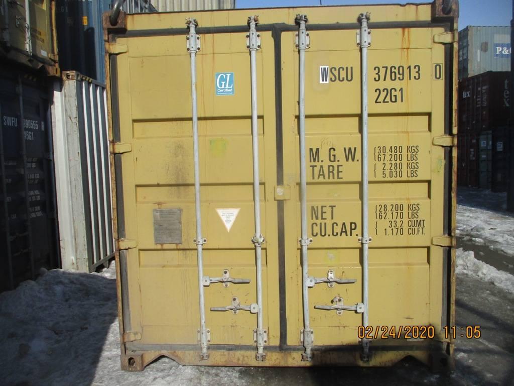 20 футовый контейнер nsk 004