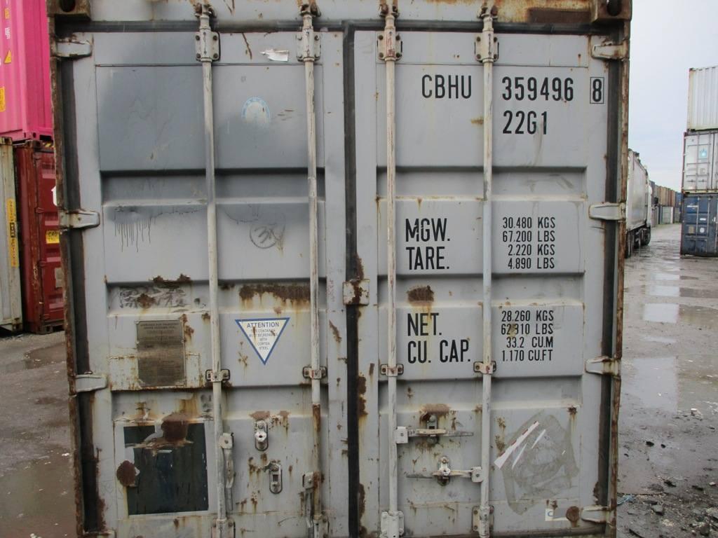 20 футовый контейнер nsk 0047