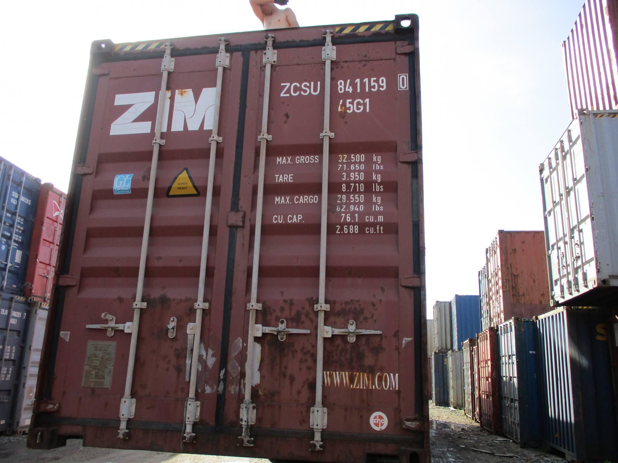 40 футовый контейнер nsk 24