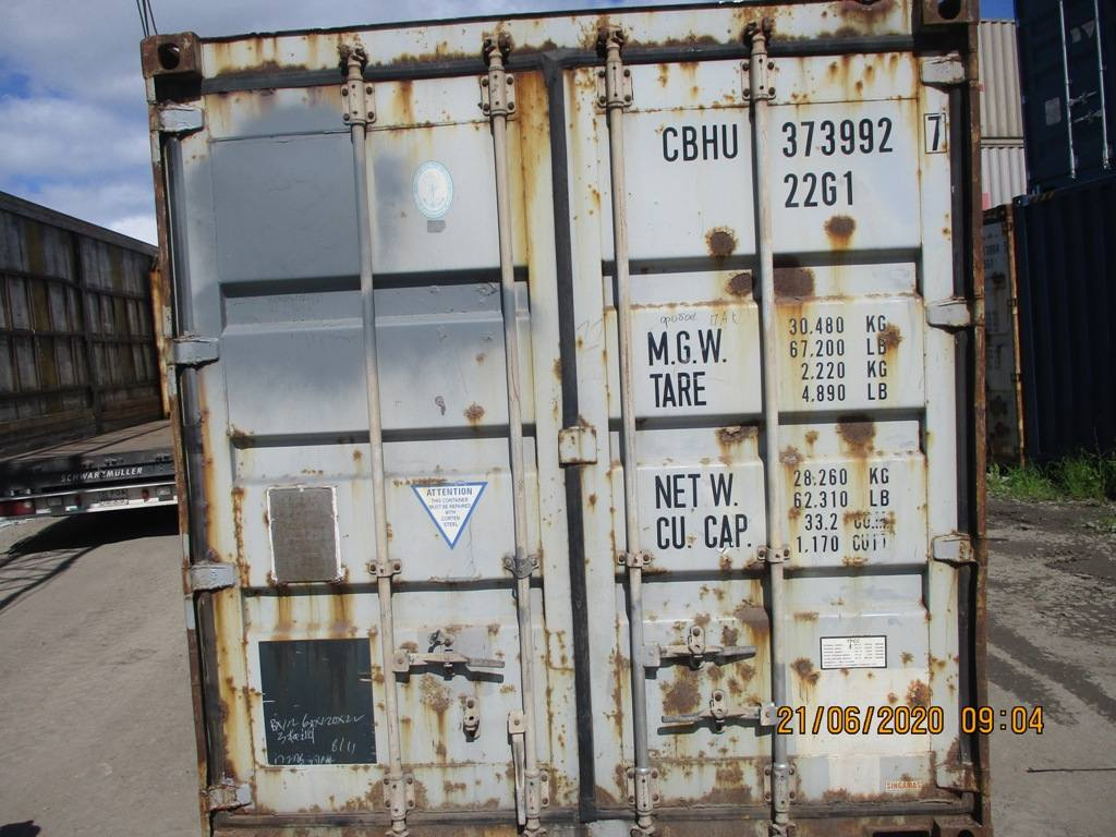 20 футовый контейнер nsk 008