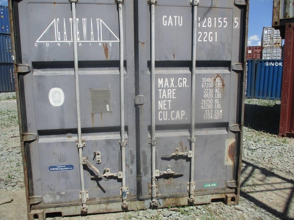 20 футовый контейнер nsk 0020