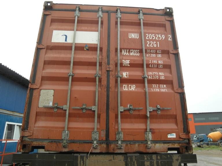 20 футовый контейнер И 004