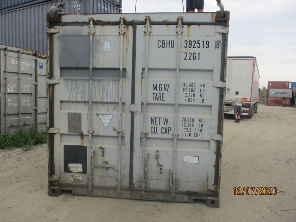 20 футовый контейнер nsk 0023