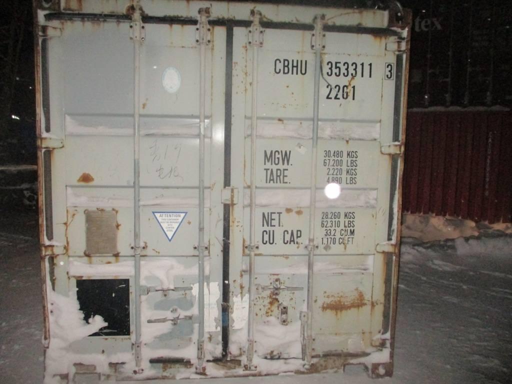 20 футовый контейнер nsk 003