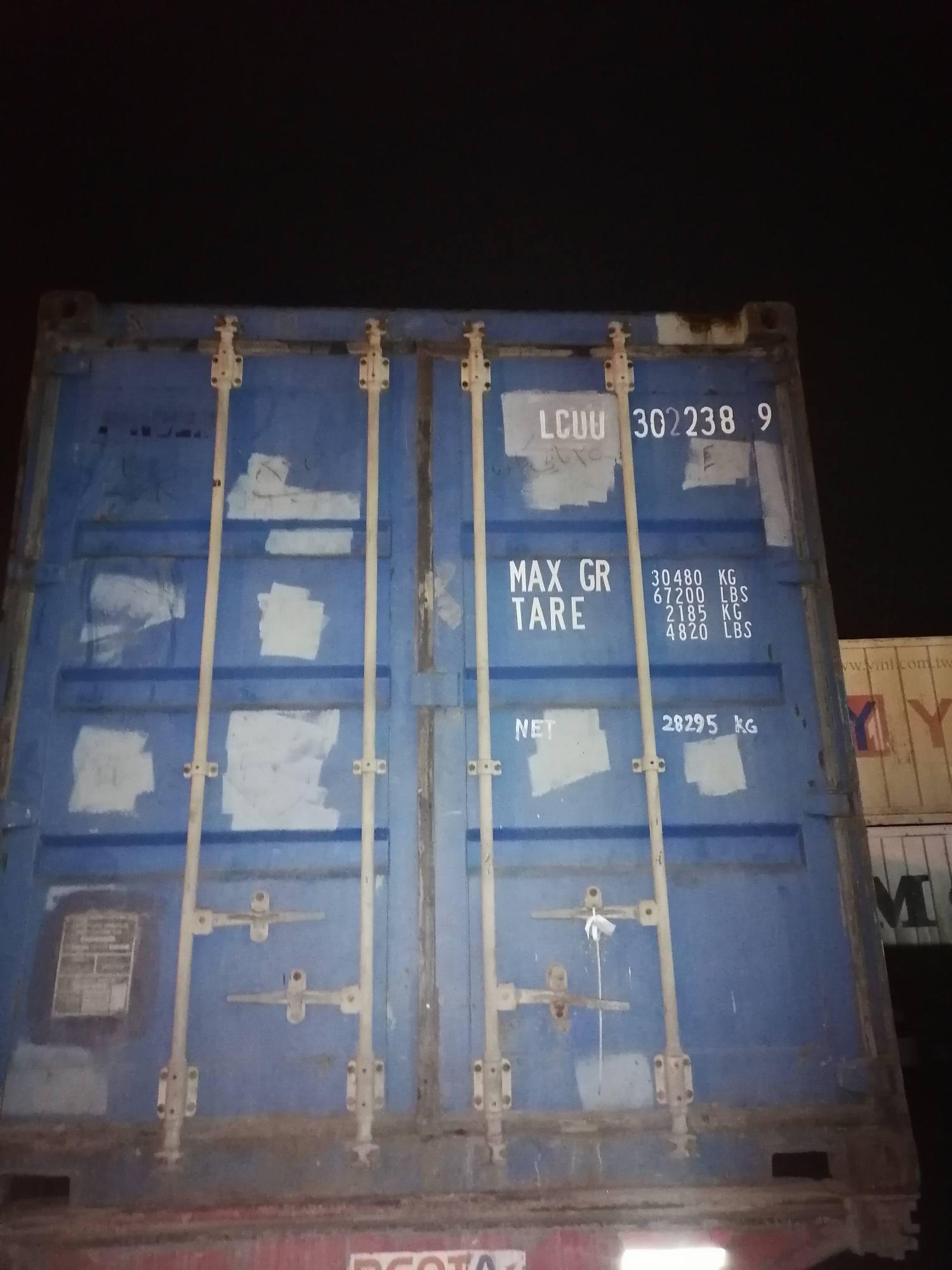 20 футовый контейнер nsk 0022