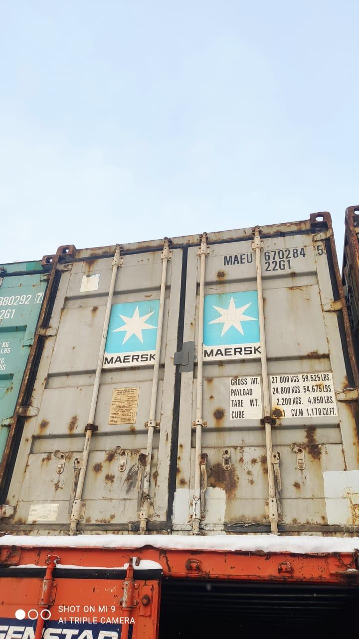 20 футовый контейнер nsk 007