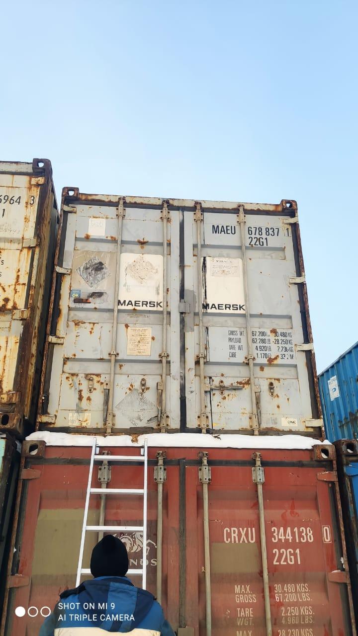 20 футовый контейнер nsk 005