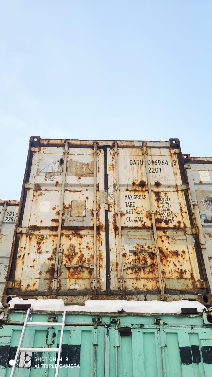 20 футовый контейнер nsk 006