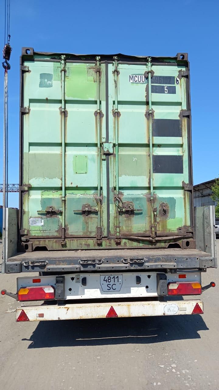 40 футовый контейнер nsk 02
